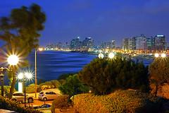 Abrasha Park of Jaffa at the blue hour, Tel Aviv (Andrey Sulitskiy) Tags: israel jaffa telaviv