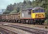 56 048. Water Orton. 5 July 1991 (ricsrailpics) Tags: uk warwickshire waterorton diesellocomotive class56 greylivery largelogo 1991