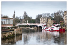River Ouse (Graham Dobson Photography) Tags: ouse riverouse minster religion shambles shops york