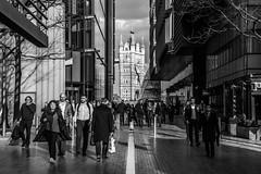 London   |   More London (JB_1984) Tags: towerbridge bridge commuters morelondon blackandwhite bw mono light shadow southwark londonboroughofsouthwark london uk england unitedkingdom nikon d500 nikond500