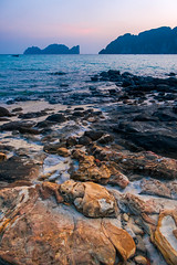 Ko Phi Phi beach (skweeky ツ) Tags: thailand thailande ko koh phi pi le ley sea beach sunset low light