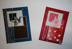 julie-savard-aceos (julie_savard) Tags: aceo origami atc orijuju juliesavard paperart miniature pocketart papercraft paperartist artisttradingcards japaneseart traditionnalart