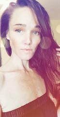 Out the Mud (Mary-Mel Knight) Tags: femaleface femaleportrait feminine selfportrait blueeyes