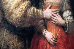 Isaac and Rebecca, known as 'The Jewish Bride' (detail) | Rembrandt van Rijn | c.1665–c.1669 | The Rijksmuseum-29 (Paul Dykes) Tags: rijksmuseum museumofthenetherlands art gallery museum amsterdam netherlands nl holland isaacandrebecca thejewishbride rembrandtvanrijn 1665 1669