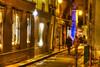 Paris nights-4 (albyn.davis) Tags: paris france europe travel people street walking light gold yellow blue color colors vivid night