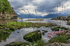 The Hardangerfjord (Dan Österberg) Tags: norway fjordnorway hardanger hardangerfjord fjord landscape lake water low groundlevel ground vegetation scenery nature clouds colorful