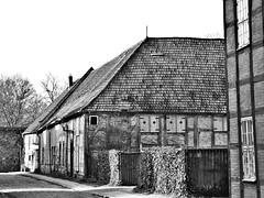 Neubrandenburg - Marstall (www.nbfotos.de) Tags: neubrandenburg marstall fachwerkhaus fachwerk bw schwarzweiss blackandwhite mecklenburgvorpommern