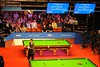 Rob Walker warming the crowd up (zawtowers) Tags: world snooker championship 2018 betfred crucible theatre sheffield thehomeofsnooker first round saturday 21st april afsnikkor50mmf18g 50mm fifty rob walker mc host letsgettheboysonthebaize warming crowd up