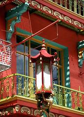 "San Francisco – Chinatown ""Lantern"" (David Paul Ohmer) Tags: san francisco california chinatown grant street lantern balcony"