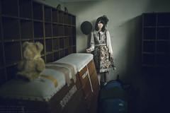 The Messenger of shadow (remake) (TAKAGI.yukimasa1) Tags: portrait woman people cute girl beauty female fineart canon eos 5dsr japanese asiangirl asian cool dark fineartphotography portraitphotography portraiture conceptualphotography