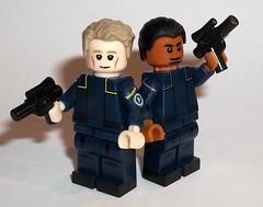 Dannl Faytonni & Achk Med-Beq (OB1 KnoB) Tags: lego star wars minifigure custom dannl daniel faytonni filoni achk med beq medbeq episode ii attackoftheclones attack clones nightclub