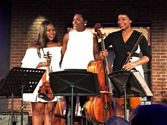 The String Queens (JuhaOnTheRoad) Tags: music concert performance jazz washington dc dcjazzfestival2018 woman girl strings thestringqueens violin viola cello