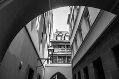 Die neue Altstadt V (R. Henne) Tags: frankfurt altstadt bw sw monochrome blackandwhite
