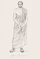 Greek philosopher from An illustration of the Egyptian, Grecian and Roman costumes by Thomas Baxter (1782-1821).Digitally enhanced by rawpixel. (Free Public Domain Illustrations by rawpixel) Tags: illustration psd publicdomain otherkeywords afterlife anillustrationoftheegyptian ancient ancientgreek antique art artistic baxter belief cc0 drawing empire gods grecian grecianandromancostumes grecianmusicalperformers greek greekphilosopher historic historical history holding man muscle mythology old oldtime paper philosopher portrait romans shoes sketch standing thomasbaxter vintage worship