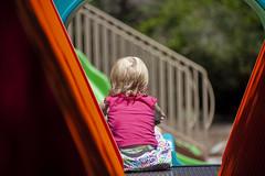 Playground Pondering (penelopes.dad) Tags: child playground sunnyday childrenplaying sharp