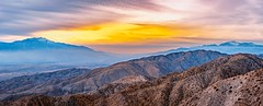 Beautiful sunset on Mount San Jacinto and San Gorgonio Mountains (Paul Chen @mn) Tags: beautiful sunset mountains snow peaks mount ranges california joshuatree nationalpark gold golden blue valley sangorgonio sanjacinto 201806