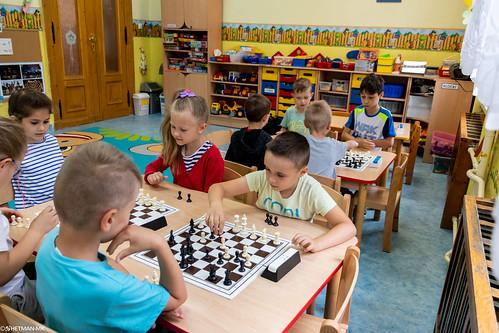 V Turniej Szachowy o Mistrzostwo Przedszkola Miejskiego Nr 1-12