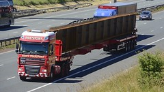 NX10 DNO (panmanstan) Tags: daf xf wagon truck lorry commercial heavy haulage freight transport vehicle a1m motorway fairburn yorkshire