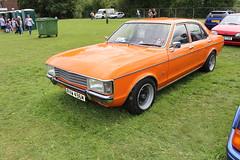 1974 Ford Granada (doojohn701) Tags: orange 30 v6 vintage retro classic car ford granada historic uk