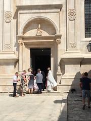 Wedding in Cathedral (goforchris) Tags: silversea cruising adriatic sea silverwhisper splitdalmatia croatia hvarisland hvar cathedrals katedralasvstjepana