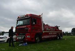J P W Commercials DAF 95XF at Party on the Pitch truck show (Joshhowells27) Tags: lorry truck daf 95xf stokeontrent jpwcommercials recovery breakdown
