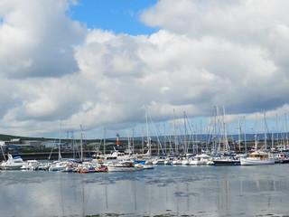 Kirkwall Marina, Kirkwall, Orkney Islands, June 2018