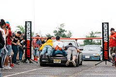 limbo (1 of 1) (Tconnors_) Tags: cars camber canon5d canon canonphotography capturethemoment acura honda hre carshow s2000 stanced stancesociety chevy gtr bagriders bags bmw limbo hatch eg ek 2step vtech turbo rims wheels rotiform lexus