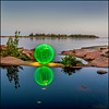 Head island Orb (Rodrick Dale) Tags: head island orb light painting georgian bay lake huron ontario canada rock water