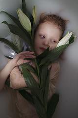 Vivify {1} (dewframe) Tags: girl flower littlegirl emotive beauty naturalportrait sweet melody light milk water