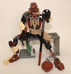 Pohatu, The Broken Mountain (Pohaturon) Tags: bionicle moc g1 pohatu bs01 infamy
