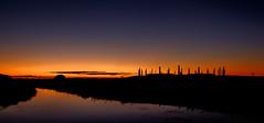 The dawn of Matariki (lizcaldwell72) Tags: hawkesbay sunrise napier water sky celestialcompass ateaarangi newzealand light