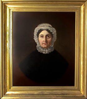 Restored portrait of Parnel Kelsey