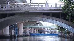 Watergate (yukky89_yamashita) Tags: osaka river cruise 大阪 東横堀川水門 高麗橋 bridge 阪神高速道路 東横堀川 大阪市 japan expressway