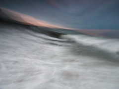 In the wave (Alf Branch) Tags: icm intentionalcameramovement water waves wave beach parton partonbeach sunset seaside sea irishsea art