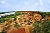Images from Rural Bengal (pallab seth) Tags: gangani garhbeta paschimmedinipur bengal india landscape canyon nature fisheyelens silabati rivercanyon