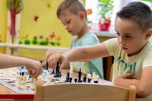 V Turniej Szachowy o Mistrzostwo Przedszkola Miejskiego Nr 1-37