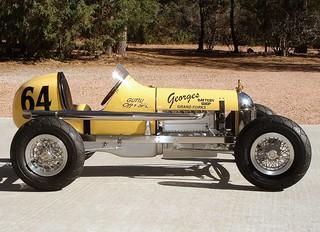 Guttu Offy Special, 1/4-Scale Model Race Car by Ron Guttu, 2007