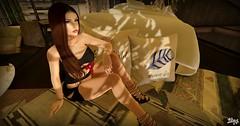 ℒιℓιε ♯105♯ (♥ Lilie89 Aichi ♥ Inworld) Tags: catwa catya decor maitreya lara ella jewels dress sexy heels doux letre hair girl woman avaway roxy aurora necklaces bracelets rings virtual life virtuallife secondlife sl elysion