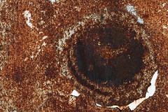The Rust Eye (gripspix (OFF)) Tags: 20180612 trailer alt old decay vergammelt rust rost paint farbe lightblue hellblau klebefolie adhesivefilm weis white texture textur