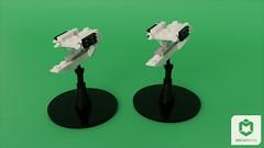 Oberth Class (ORION_brick) Tags: lego render mecabricks star trek oberth class pegasus fleet little scale space spaceship starship varient ncc grimmsom
