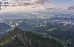 The horizon from Pilatus (MarianoJT88) Tags: horizon summer lanscape pilatus switzerland sony