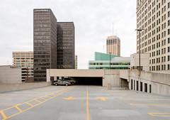 P6198217 (elsuperbob) Tags: detroit downtowndetroit michigan skyscrapers skyline cityscape parkingdeck