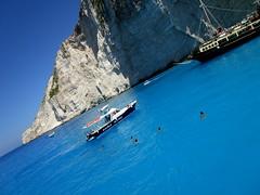 IMG_1248 (SyrianSindibad) Tags: greece zakynthos navagiobeach shipwreckbeach smugglerscove