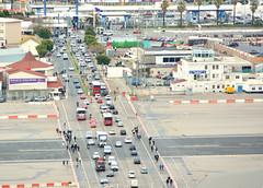 Gibraltar Airport runway (M McBey) Tags: gibraltar airport runway road crossing