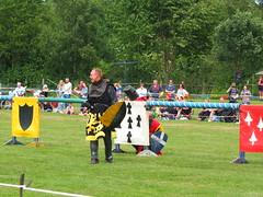 DSCF3793 (SierPinskiA) Tags: ruffordabbeycountrypark rufford knightsofnottingham fujixs1 jousting medieval horse knights goldeneagle falcon