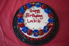 Informative Icing (armaankrishnar) Tags: 18th birthday party cake icing