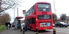 London General WHV16 on route 280 Morden 31/03/18. (Ledlon89) Tags: bus buses london transport tfl goaheadlondon londongeneral morden londonbus londonbuses wrightbus volvo londontransport