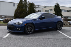 "Gear One Performance's Customer Subaru BRZ with 17"" ARC-8 Wheels (ApexRaceParts) Tags: 17 ft86 86 brz subie subi blue frs 17inch"