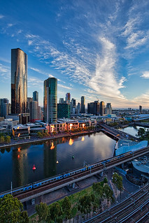 Sundown @ Skyline @ Southbank, Melbourne, VIC, Australia