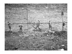 we were children (vfrgk) Tags: children graffiti streetphotography streetart urbanphotography urbanart brickwalldetail monochrome blackandwhite bnw bw artwork